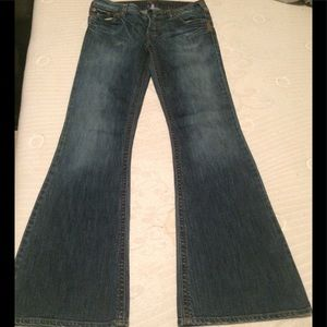 boot cut silver jeans
